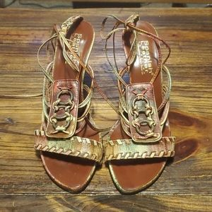 Sergio Zelcer Spanish Collection Sandals Size 9